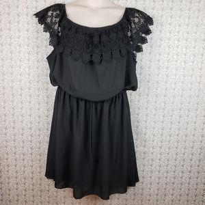 Charlotte Russe Plus Black Dress Size 3XL